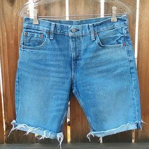 Levi's 511 slim fit denim shorts mens size 30